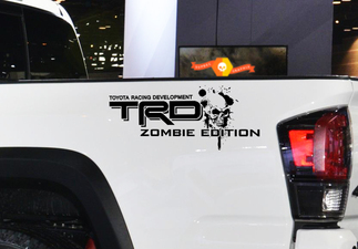 Toyota Racing Development TRD Zombie edition 4X4 bed side Graphic decals stickers