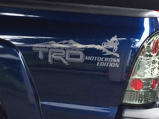 Toyota Racing Development TRD Motocross Edition 4X4 bed side Graphic decals stickers
