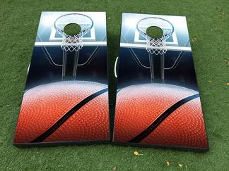 NBA basket Cornhole Board Game Decal VINYL WRAPS with LAMINATED