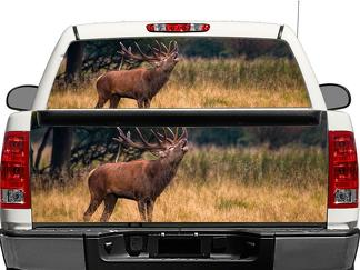 Deer Wildlife Nature Rear Window OR tailgate Decal Sticker Pick-up Truck SUV Car