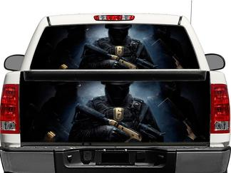 Rainbow six siege Rear Window OR tailgate Decal Sticker Pick-up Truck SUV Car