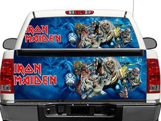 Iron maiden Rear Window OR tailgate Decal Sticker Pick-up Truck SUV Car