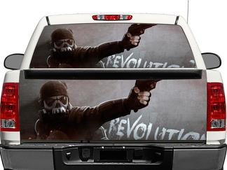 Homefront Revolution Rear Window OR tailgate Decal Sticker Pick-up Truck SUV Car