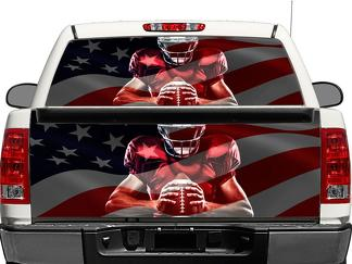 Atlanta Falcons NFL football sports Rear Window OR tailgate Decal Sticker Pick-up Truck SUV Car