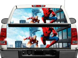 Spider Man Homecoming Rear Window OR tailgate Decal Sticker Pick-up Truck SUV Car