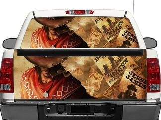 red dead redemption Rear Window OR tailgate Decal Sticker Pick-up Truck SUV Car