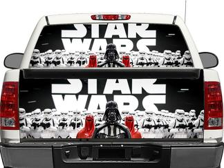 Star Wars Darth Vader Empire Rear Window OR tailgate Decal Sticker Pick-up Truck SUV Car