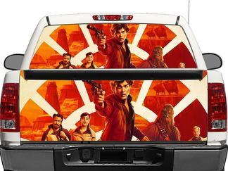 Star Wars Rear Window OR tailgate Decal Sticker Pick-up Truck SUV Car