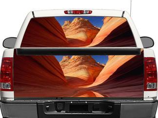Grand Canyon Heckscheibe ODER Heckklappe Aufkleber Aufkleber Pick-up Truck SUV Auto