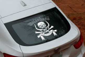 Motorhead window Rock metal Rear Window Decal Sticker Pick-up Truck SUV Car