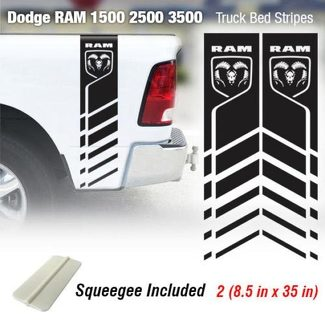 Dodge Ram 1500 2500 3500 Hemi 4x4 Decal Truck Bed Stripe Vinyl Sticker Racing 7R