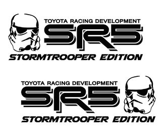 Toyota SR5 Truck Stormtrooper Edition Tacoma Tundra Decals Sticker Decal Vinyl x