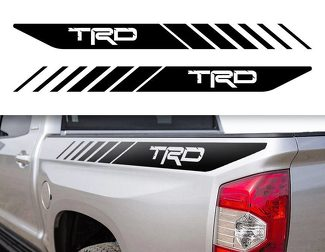 Tacoma TRD Toyota Truck 4x4 Sport Decals Vinyl Stickers Bedside 2