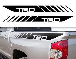 Tacoma TRD Toyota Truck 4x4 Sport Decals Vinyl Stickers Bedside 2 A