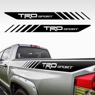 Tacoma Sport Toyota TRD LKW 4x4 Aufkleber Vinyl PreCut Aufkleber Bedside Set FS