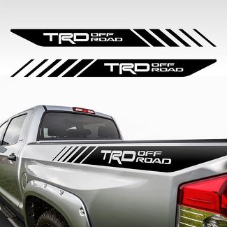 Tacoma Off Road Toyota TRD Truck 4x4 Decals Vinyl PreCut Stickers Bedside Set FS