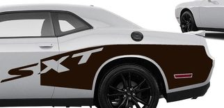 Custom 2018 CHALLENGER BILLBOARD Decals Graphics Vinyl HEMI MOPAR SXT DODGE 3.6L