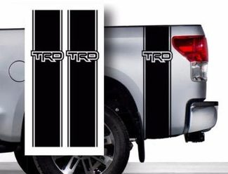 Toyota TRD Pickup Truck Bed Stripes decal stickers / Choose Color