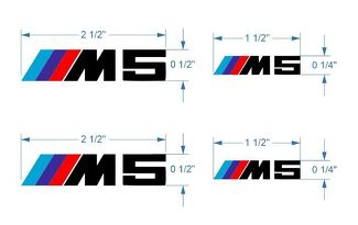 BMW M Brake Caliper M5 Decal sticker