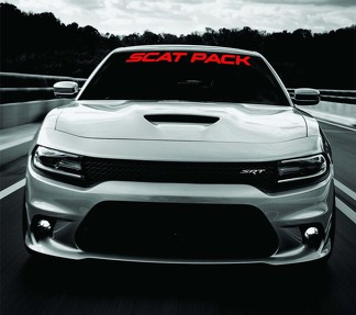 Dodge Charger SCAT PACK Windshield Banner Decal 2011-2018 SRT MOPAR 392