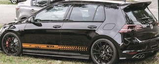 Decal vinyl stricker Side Door Stripes for Volkswagen Golf MK7 MK6 MK5 GTI GT