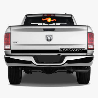 RAM 1500 Sport Heckklappenstreifen Aufkleber Hemi Dodge Truck 5.7 2017 2016 2015 2014