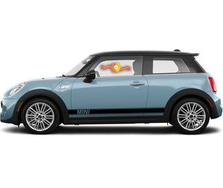 MINI COOPER SIDE STRIPES COUNTRYMAN CLUBMAN GRAPHICS STICKERS DECALS