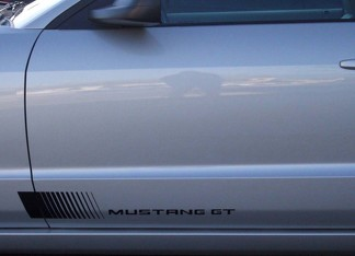94-98 FORD MUSTANG FADING SIDE STRIPES - COBRA, GT, MUSTANG, V6