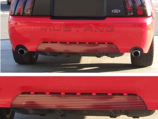 99-04 FORD MUSTANG LINED REAR LOWER BUMPER INSERT DECAL GRAPHICS STICKER