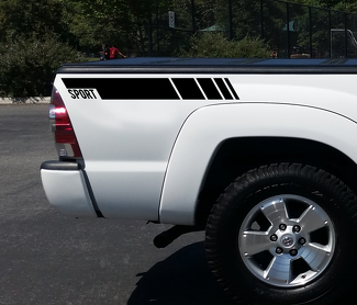 SPORT Side Stripe Rocker Panel Decal vinyl fits Toyota 4runner tacoma TS1