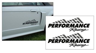 N395 FORD DODGE CAMARO - PERFORMANCE RACING DECAL SET
