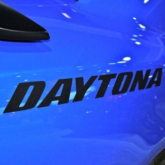 Set of 2: Dodge Charger 2011-2014 DAYTONA style quarter panel side decals