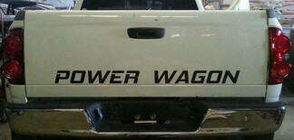 DODGE RAM POWER WAGON TAILGATE DECAL * MOPAR 5.7 HEMI CUMMINS