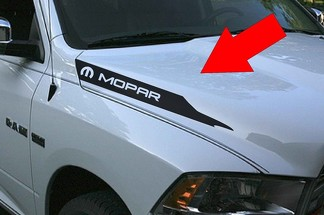 Dodge Ram Hemi Sport 1500 2500 Hood Vinyl Stripes Decals Stickers Mopar Rebel RT