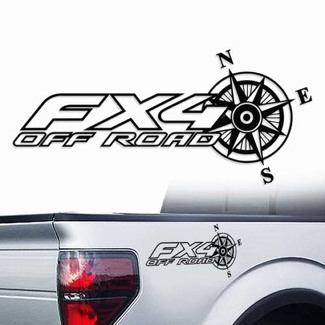 Ford F-150 FX4 Off-Road Truck f150 explorer Pair Decals Vinyl Decal f 150 outl
