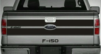 Ford F -150 Tailgate Blackout Style Decal Vinyl Stripes 2009-2014 Avery + Text