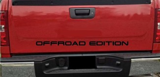Truck Tailgate OFFROAD EDITION Bed Decal Graphic Letters 4x4