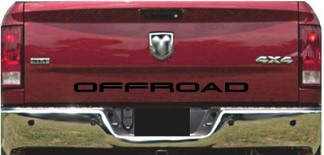 Truck Tailgate OFFROAD Bed Decal Graphic Letters Fits 4x4 1500 SUV 4x4 car