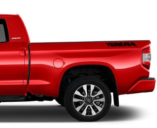 Tundra Raptor Style Bed Decal (Solid Color)