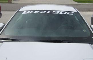 Ford Mustang Boss 302 Windscherm Banner - 2012 - 2020 Venster Decal Vinyl Sticker