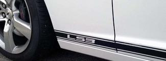 2010 - 2015 Chevrolet Camaro SS RS LS Kippstreifen Streifen Aufkleber Grafiken