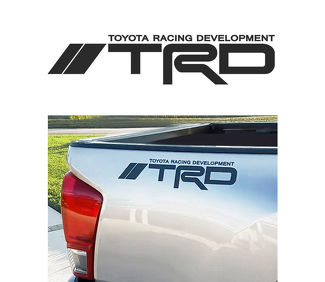 Toyota TRD Off Road Racing Tacoma Tundra Truck offroad Pair Decal Sticker logo B