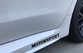 Motorsport Body Panel Vinyl Decal Racing Sticker Emblem Logo Drift Fits: Toyota