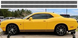 2X Dodge Challenger Scat Pack Rocker Panel Aufkleber Stripe Vinyl Graphics -1 Scatpack