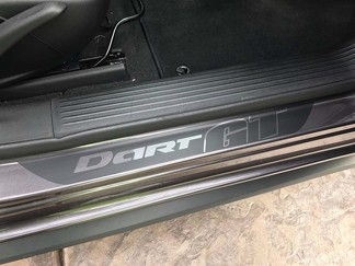 4X Dodge Dart GT Vinyl Door Sill Decals 2013 - 2018 Turbo Limited SXT Rallye