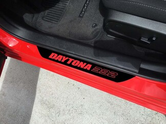 4X DODGE CHARGER DAYTONA 392 SRT Vinyl Door Sill Decals