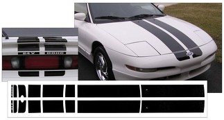 1997 FORD PROBE - GTS DUAL RACING STRIPES - FACTORY REPLACEMENT