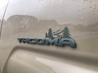 Tacoma Mountain Decal 2.0, Mountain Badge Decal