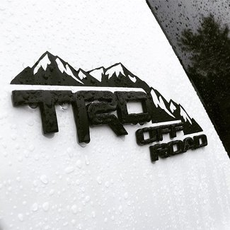 4Runner Mountain Decal, 4runner Vinyl, 4runner Decal
