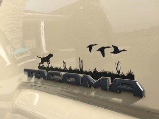3rd Gen Tacoma's Hunting Dog Decal, Hunting Decal